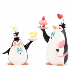 I pinguini camerieri 12 cm Disney Showcase 6001672