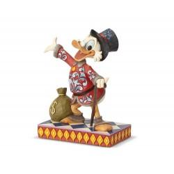 Zio Paperone con sacca di dollari 16 cm Disney Traditions 6001285