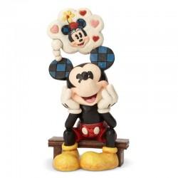 Topolino pensieroso 17,5 cm Disney Traditions 6001281