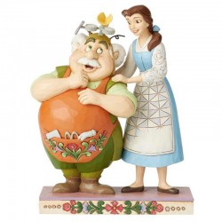 Belle e Maurice 23 cm Disney Traditions 6002806