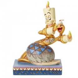 Lumiere e Spolverina 15 cm Disney Traditions 6002814