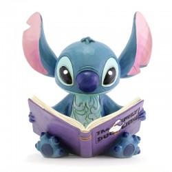 Stitch con libro 14 cm Disney Traditions 4048658