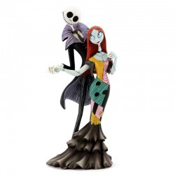 Jack Skellington e Sally 22 cm Disney Showcase 6002184