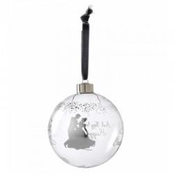 Pallina di Natale Cenerentola 10 cm Disney Enchanting A29528