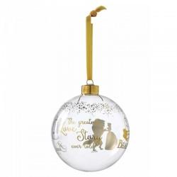 Pallina di Natale Belle 10 cm Disney Enchanting Collection A29529