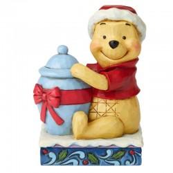 Winnie The Pooh natalizio 10,5 cm Disney Traditions 6002845