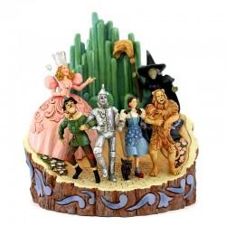 Tronco personaggi del Mago di Oz 20 cm Disney Traditions 6005078