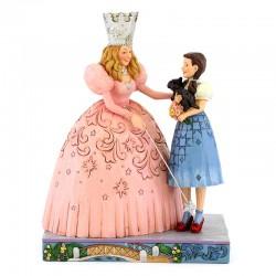 Glinda e Dorothy del Mago di Oz 20 cm Disney Traditions 6005080