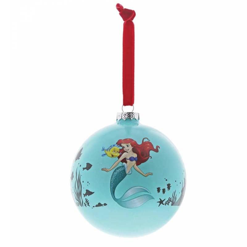 Pallina di Natale La Sirenetta 10 cm Disney Enchanting A29681
