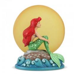 Ariel su scoglio con luce 19 cm Disney Traditions 6005954
