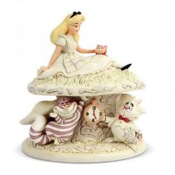 Alice su fungo 18 cm Disney Traditions 6005957