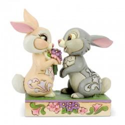 Tamburino e Miss Bunny 10 cm Disney Traditions 6005963