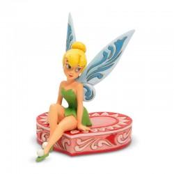 Trilly seduta su cuore 13 cm Disney Traditions 6005966