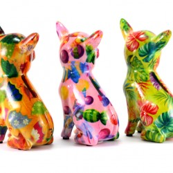 Chihuaha Moneybox 10x15x6.5 cm Pomme Pidou