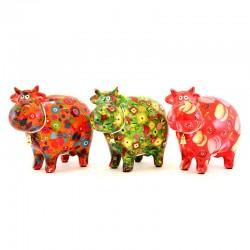 Beautiful Cow piggy bank 19x16x10 cm Pomme Pidou