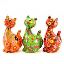 Candy Cat piggy bank 12x22x10 cm Pomme Pidou
