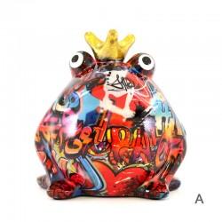 Frog Freddy piggy bank  16x17x15 cm Pomme Pidou
