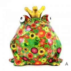 Frog Freddy piggy bank  24x25x21 cm Pomme Pidou