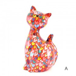 Candy Cat piggy bank 18x31x15 cm Pomme Pidou