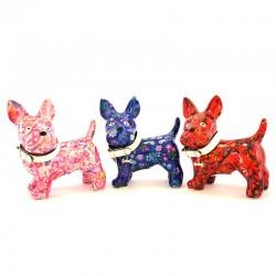 Dog Boomer piggy bank  17x19x9 cm Pomme Pidou