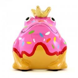 Frog Freddy Donut 9x10x8 cm Pomme Pidou