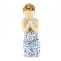 Statuina Piccola Preghiera 10 cm More Than Words