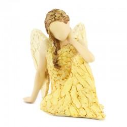 Statuina Angelo seduto 12 cm More Than Words