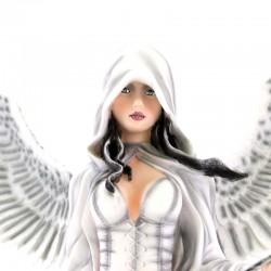 White Guardian Angel Karel 61 cm Les Alpes