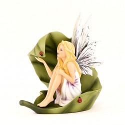 Fairy Olona on leaf 18 cm Les Alpes