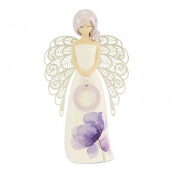 Smile Angel in resin 15 cm You are an Angel