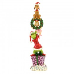 Totem personaggi Grinch 34 cm The Grinch by Jim Shore 6002066