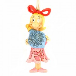 Cindy con pallina di Natale 11,5 cm The Grinch by Jim Shore 6004068