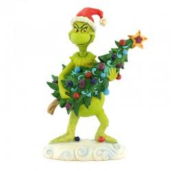 Grinch ruba l'albero 22 cm The Grinch by Jim Shore 6002067