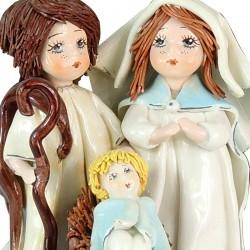 Porcelain Nativity Scene 13 cm