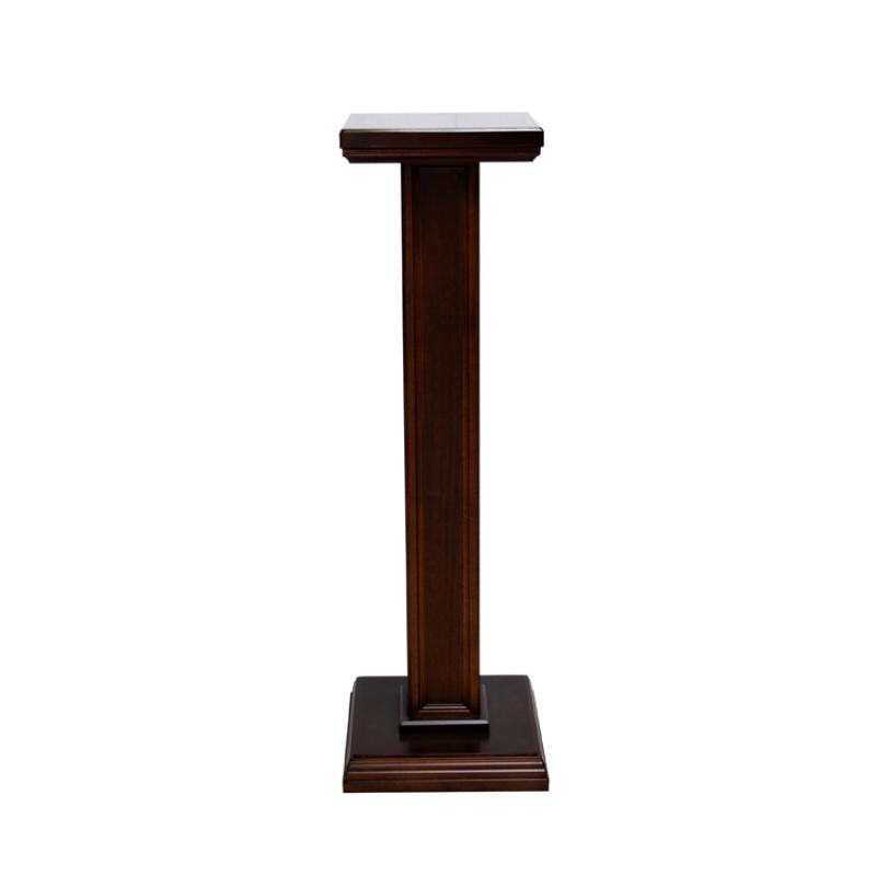 Colonna per statue in legno 107 cm