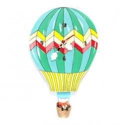 Hot Air Balloon Clock 25x20 cm Allen Designs