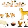 Animals for nativity scene