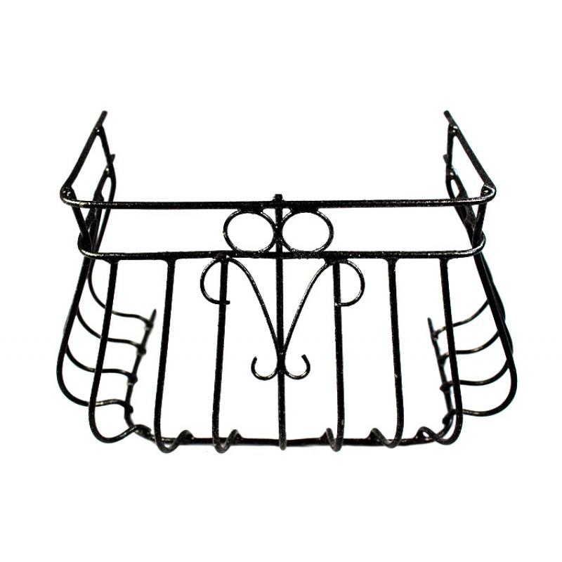 Ringhiera Balcone in ferro per presepe 8x10,5 cm