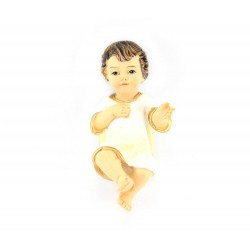 Resin Baby Jesus with Tunic 6.5 cm