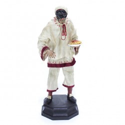 1700 Neapolitan style Pulcinella with Clothing 44 cm
