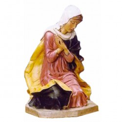 Silicone Resin Virgin Mary for Nativity 65 cm