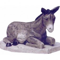 Silicone Resin Donkey 65 cm
