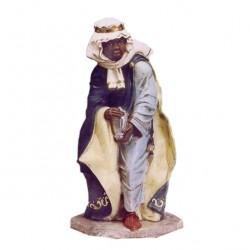 Silicone Resin Mulatto Wiseman for Nativity 65 cm