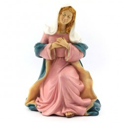 Silicone Resin Virgin Mary for Nativity 40 cm