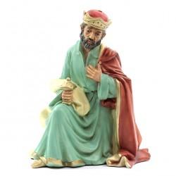 Silicone Resin Mulatto Wiseman for Nativity 40 cm