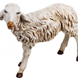Resin Standing Sheep 125 cm Fontanini