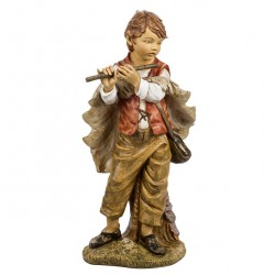 Resin Boy with Flute 125 cm Fontanini