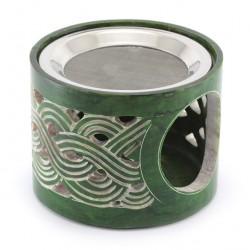 Terracotta Incense Burner 8 cm Diameter 9 cm