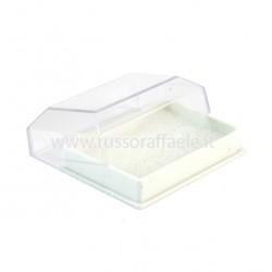 Rectangular Plastic Case 2x6.6x4.6 cm