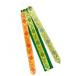 Lectionary or Gospel Book Bookmark 3 Ribbons